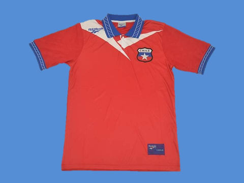 CHILE 1998 WORLD CUP HOME  JERSEY