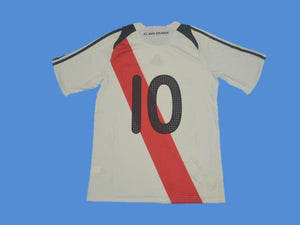 RIVER PLATE 2009 2010 NUMBER 10 HOME JERSEY