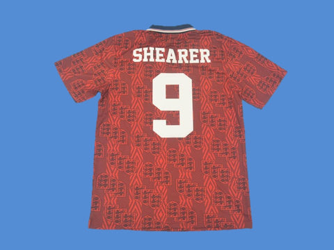ENGLAND 1994 SHEARER 9 AWAY JERSEY