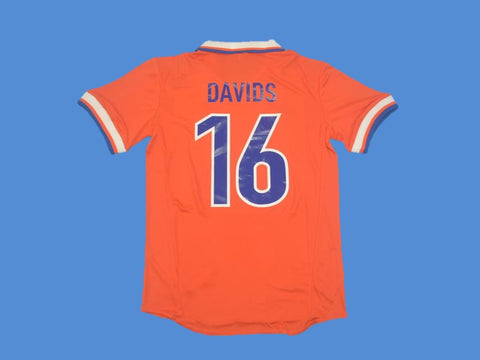 NETHERLANDS HOLLAND 1997 DAVIDS 16 HOME  JERSEY