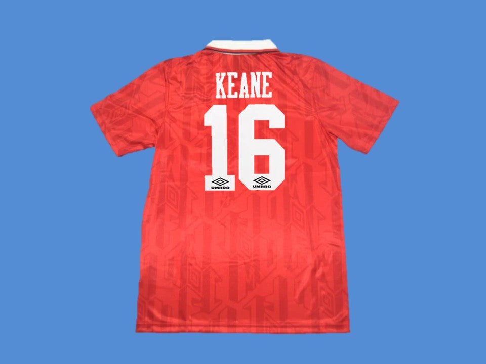 MANCHESTER UNITED 1994 KEANE 16  HOME JERSEY