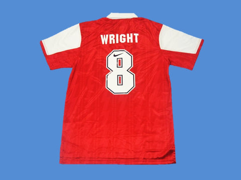 ARSENAL 1994 1995 WRIGHT 8 HOME JERSEY