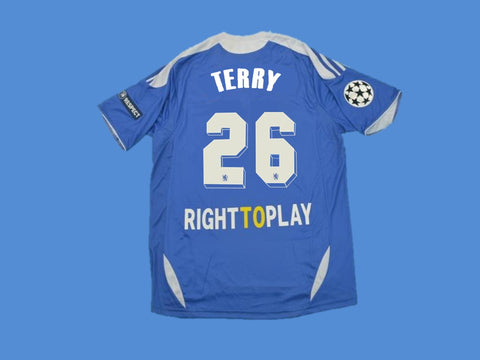 CHELSEA 2012 TERRY 26  UCL FINAL HOME JERSEY