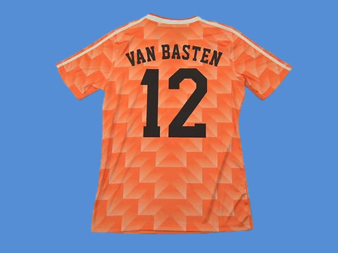 NETHERLANDS HOLLAND 1988 VAN BASTEN 12 HOME  JERSEY