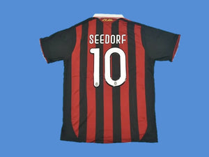 AC MILAN 2009 2010 SEEDORF 10 JERSEY HOME JERSEY