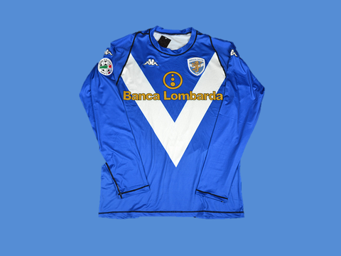 BRESCIA 2003 2004 AWAY  BLUE  JERSEY