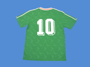IRELAND 1990 1992 NUMBER 10 HOME  JERSEY
