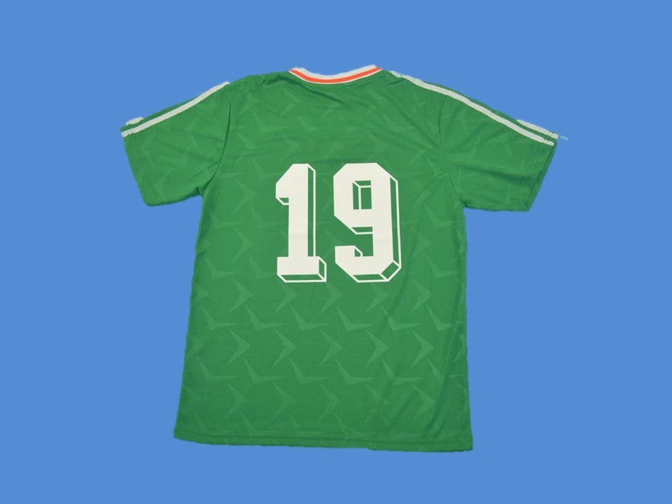 IRELAND 1990 1992 NUMBER 19 HOME  JERSEY