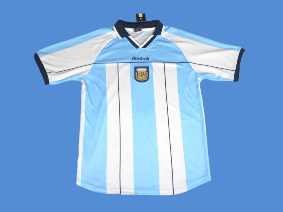 ARGENTINA 2000 2001 HOME JERSEY