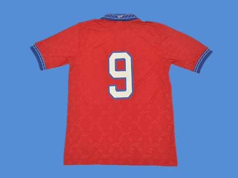 CHILE 1998 NUMBER 9 WORLD CUP HOME  JERSEY