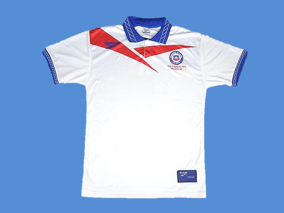CHILE 1998 WORLD CUP AWAY  JERSEY