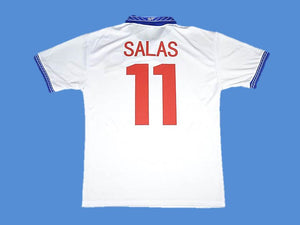 CHILE 1998 WORLD CUP SALAS 11 AWAY  JERSEY