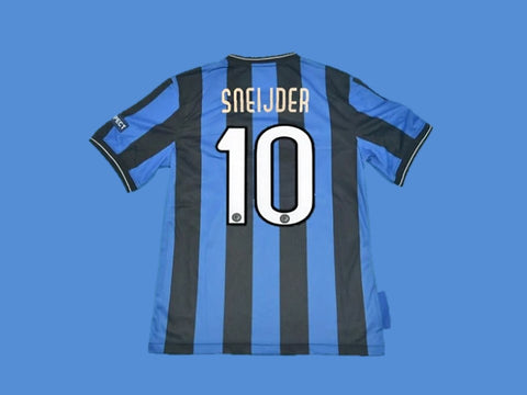 INTER MILAN 2010 SNEIJDER 10 UCL FINAL HOME JERSEY