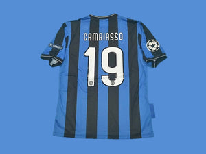 INTER MILAN 2010 CAMBIASSO 19 UCL FINAL HOME JERSEY