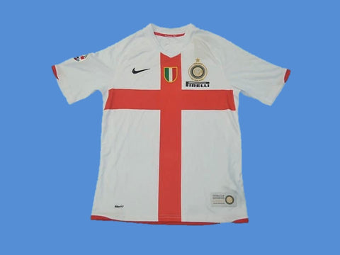 INTER MILAN 2007 2008 100 YEARS AWAY JERSEY