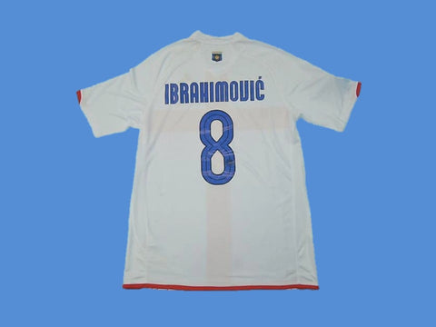 INTER MILAN 2007 2008 IBRAHIMOVIC 8 AWAY JERSEY