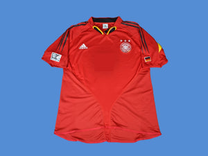 GERMANY 2005  AWAY RED JERSEY