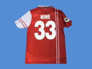 PERUGIA 1998 1999 NINE 33 JERSEY SERIE A PATCH