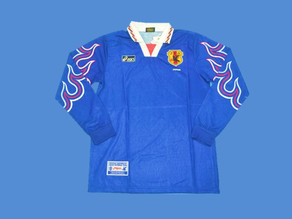 JAPAN 1998 1999 HOME JERSEY LONG SLEEVE