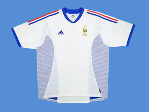 FRANCE 2002 WORLD CUP AWAY JERSEY