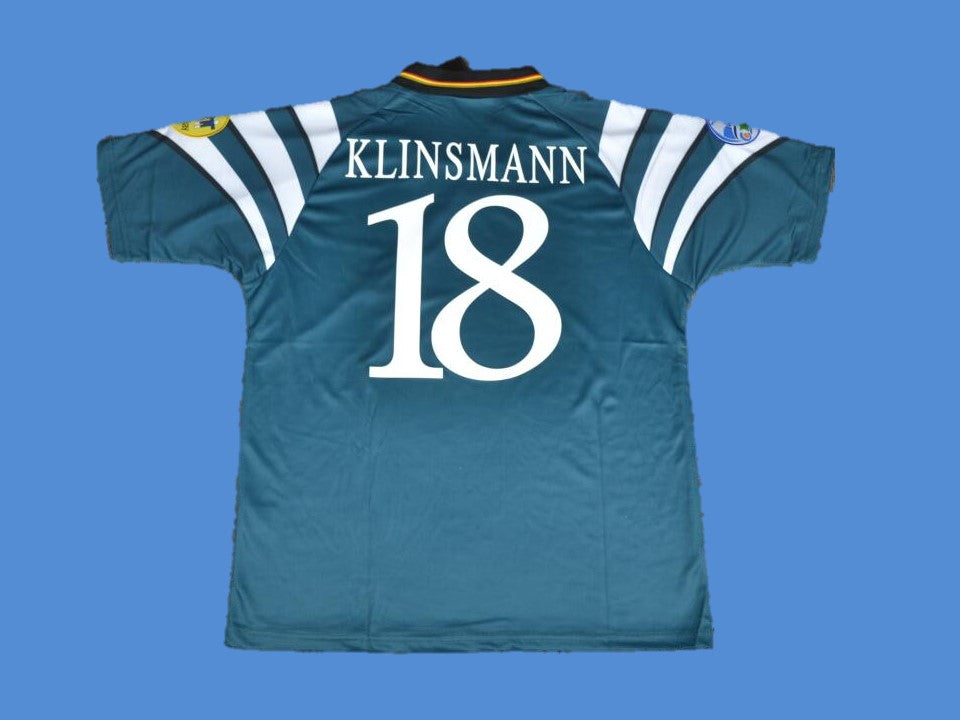 GERMANY 1996  KLINSMANN 18 AWAY  JERSEY