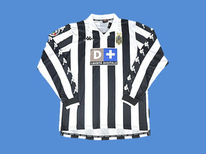 JUVENTUS 1999 2000 LONG SLEEVE HOME JERSEY