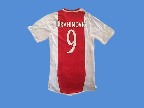 AJAX 2004 2005 IBRAHIMOVIC 9 HOME  JERSEY