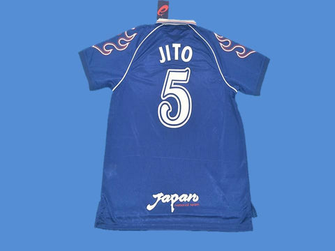 JAPAN 1998 JITO 5 WORLD CUP HOME JERSEY