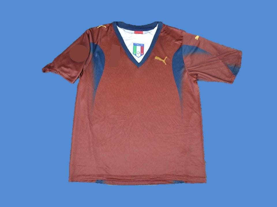 ITALY 2006 GOALKEEPER WORLD CUP AWAY JERSEY
