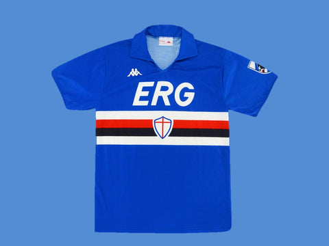 SAMPDORIA 1989 1990 HOME JERSEY