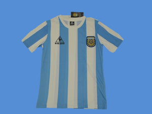 ARGENTINA 1986 WORLD CUP HOME  JERSEY