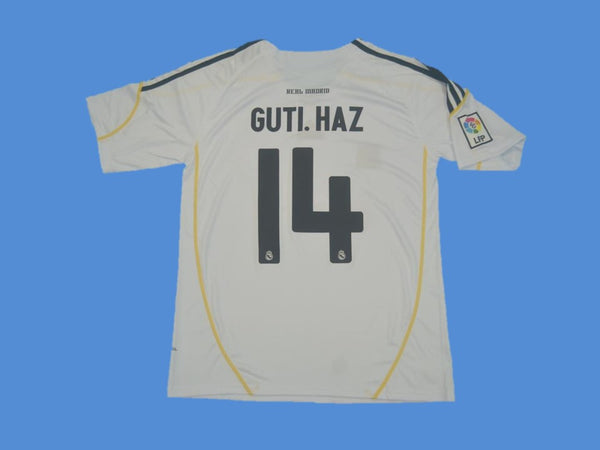 REAL MADRID 2009 2010 GUTI 14 HOME JERSEY