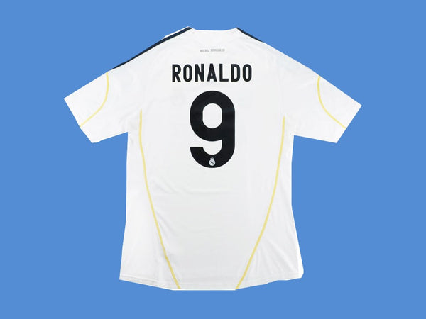 REAL MADRID 2009 2010 RONALDO 9 HOME JERSEY CHAMPIONS LEAGUE