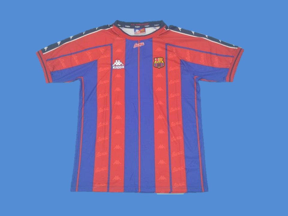BARCELONA 1997 1998 HOME JERSEY