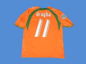 COTE D'IVOIRE WORLD CUP DROGBA 11 HOME JERSEY
