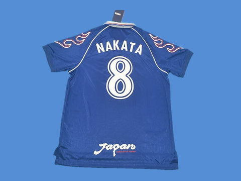 JAPAN 1998 NAKATA 8 WORLD CUP HOME JERSEY