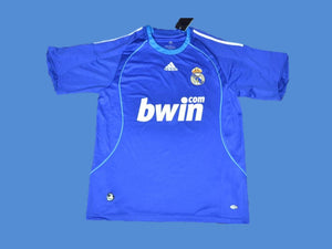 REAL MADRID 2008 2009 AWAY JERSEY