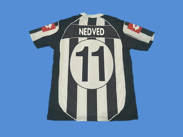 JUVENTUS 2002 2003 NEDVED 11 HOME JERSEY