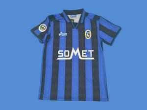 ATALANTA 1996 1997 HOME JERSEY SERIE A PATCH