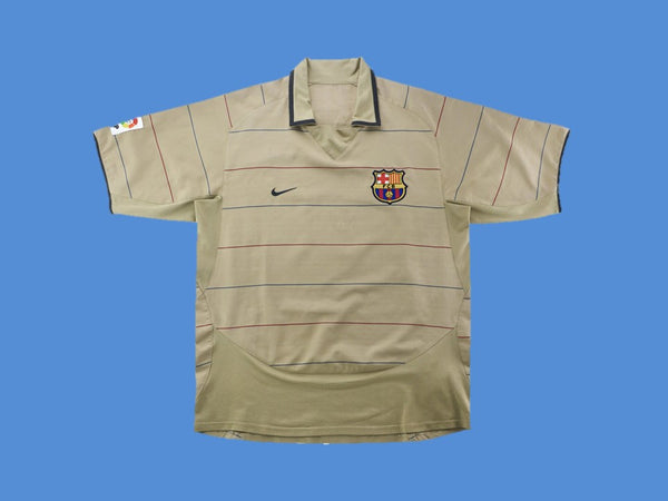 BARCELONA 2003 2004 MESSI 30 AWAY JERSEY