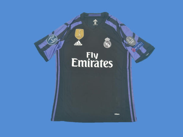 REAL MADRID 2016 2017 UCL AWAY JERSEY