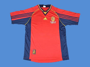 SPAIN 1998 WORLD CUP HOME  JERSEY