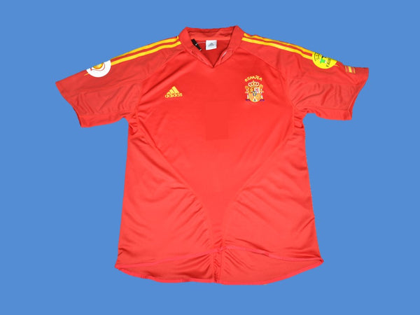 SPAIN 2004 HOME JERSEY