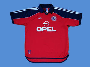 BAYERN MUNICH 2000 2001 HOME JERSEY