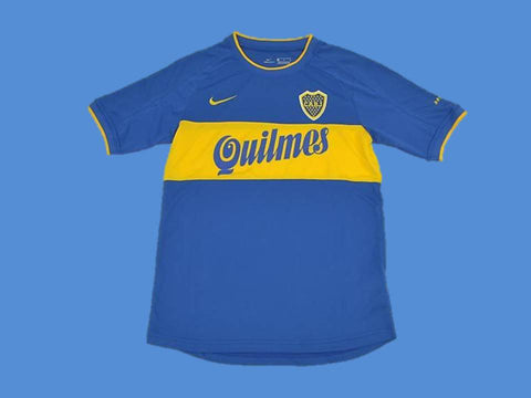 BOCA JUNIORS 2000 HOME  JERSEY