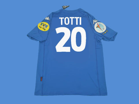 ITALY 2000 TOTTI 20 HOME  JERSEY EUROCUP