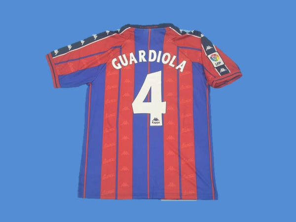 BARCELONA 1997 1998 GUARDIOLA 4 HOME JERSEY