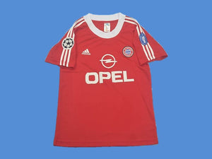 BAYERN MUNICH 2001 HOME JERSEY