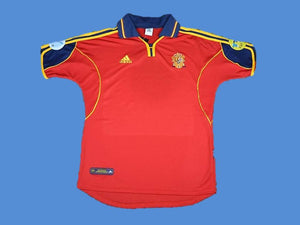 SPAIN 2000 EURO CUP HOME  JERSEY