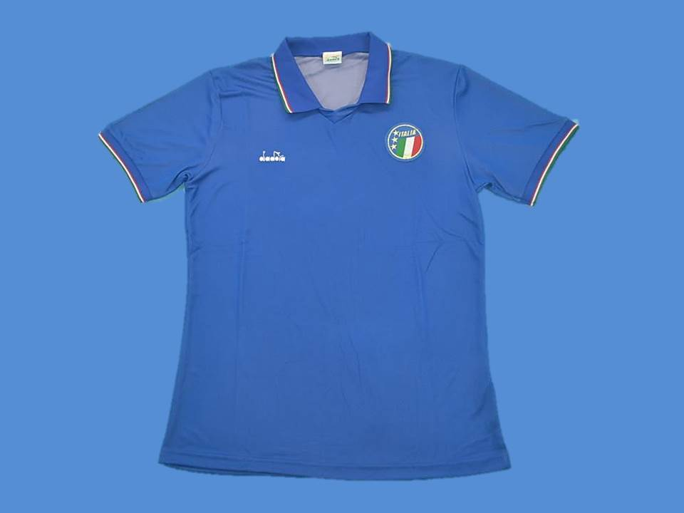 ITALY 1990 WORLD CUP HOME JERSEY